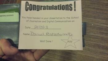 Congrats Diss